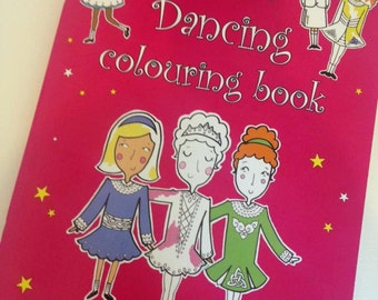 Irish Dancing Colouring Book