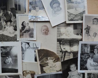 mother and baby photographs vintage instant collection of mom and child photos picture collage