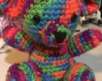 Crochet Lovey Teddy Bear