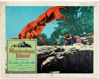 MYSTERIOUS ISLAND, Movie Lobby Cards, 1961