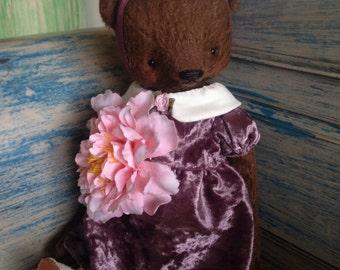 16 inch Artist Handmade Mohair Bear  Teddy Bear Josephina by Sasha Pokrass