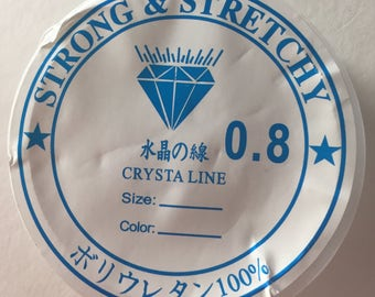 5m roll of 0.8mm elastic wire