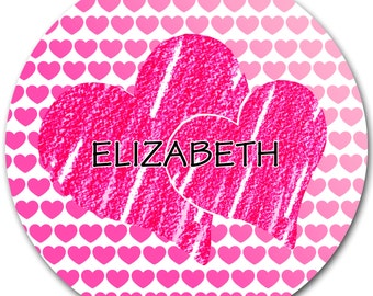 Valentine's Day - Personalized Plate