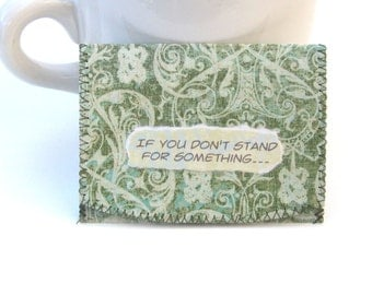 Stand For Something ID,Bus or Metro Pass,Library CardHolder / Wallet