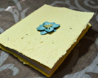 Flower Handmade Paper Journal
