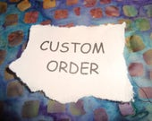 CUSTOM ORDER Double mosaic light switch plate with one standard switch and one rectangular opening