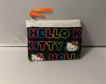 Hello Kitty  Fabric  Coin Purse-Handmade  Sanrio