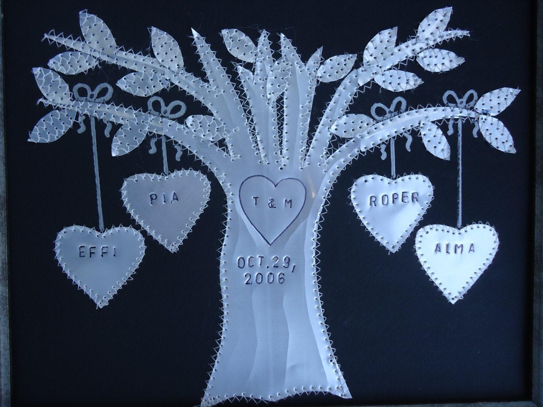 10 Year Wedding Gifts: Tin Anniversary 10 Year Anniversary Gift Wedding Gift Hearts