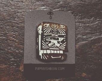 Strike - artist series lapel enamel pin