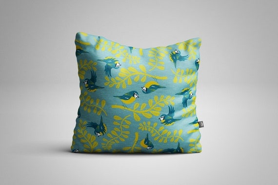 Blue Tits Cushion (Cover only)