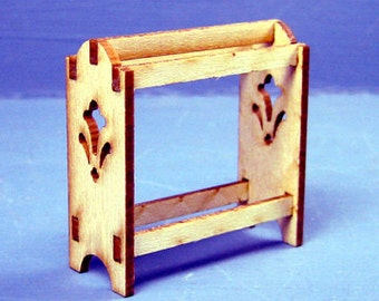 Standing Quilt Rack Kit 1:12 Scale