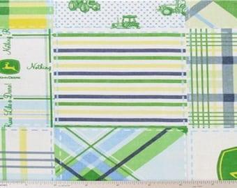 Blue Madras Fabric - 1 yard