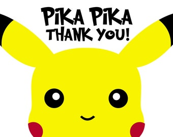 Pokemon Thank You Postcard