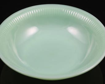 "Fire King Jadeite Jane Ray Pattern 6"" Cereal Bowl"