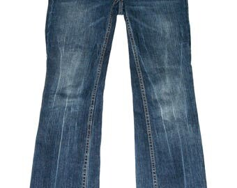 "Sweet 90's Boot Cut Faded Blue Denim- Size 30"" Waist"
