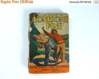 Antique c. 1936 The Trail of the LONESOME PINE Fiction Hardback Novel 1930's Book 124 pages