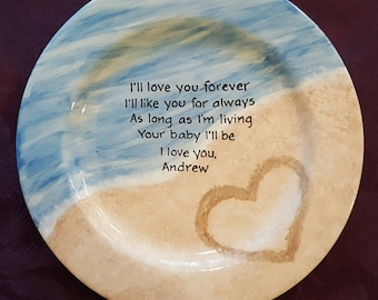 Wedding gift for mom,wedding gift for dad,Wedding gift for Mom and Dad,Wedding gift for Parents,mother of the bride gift,mom gift,Sand Heart