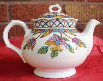 "Sadler England ""Piazza"" Teapot"