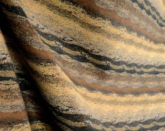 Black & Brown Contemporary Upholstery Fabric Schelles Onyx