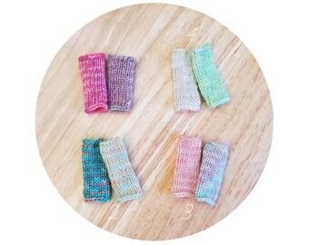 Blythe MisMatch Multicolor Leg Warmers / Leggings / Socks