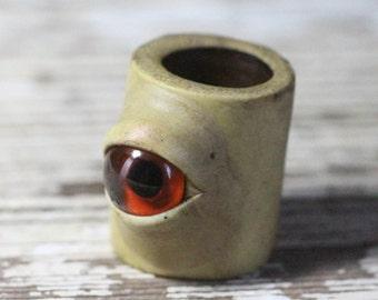 Eye dreadlock dread bead 10mm