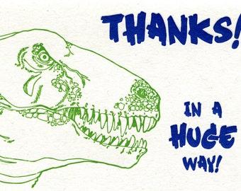 Dinosaur Thanks