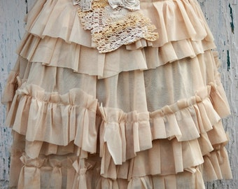 Steampunk bustle, bustle skirt, victorian, tatter punk, romantic goth, roses, layers and frills, vintage romance, woman fashion, steampunk