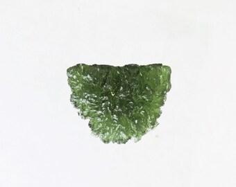 38.8 cts  moldavite Tektite specimen czech republic