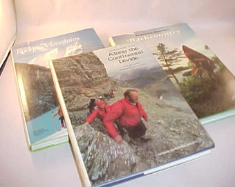 3 National Geographic Society Hardcover Books with Dust Covers