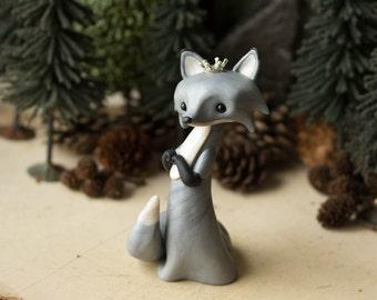 Silver Fox Queen by Bonjour Poupette