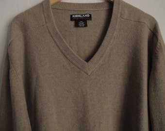 Xxl camel sweater | Etsy