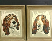 Pair Dog Paint by Number / Framed Portraits