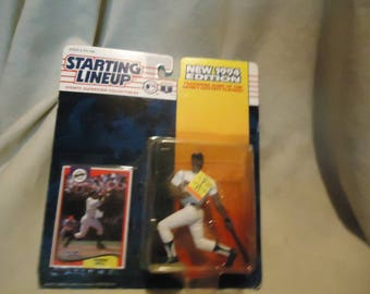 Vintage 1993 1994 Edition Kenner Starting Lineup Derek Bell San Diego Padres Action Figure With Card In Sealed Package, collectable