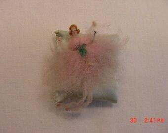 Vintage Handmade Miniature Ballerina Doll  17 - 627