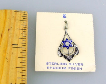 NOS Magen David  - pendant or charm.  Star of David Judaica Jewish
