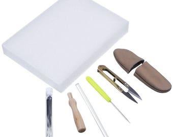 Needle Felting Kit, beginner kit, Needle Felting Tool Kit, 14 pcs needle felting kit
