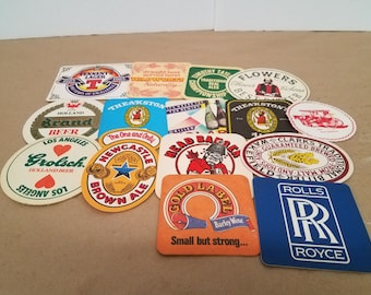 Set of 15 Assorted Bar/Drink Coasters
