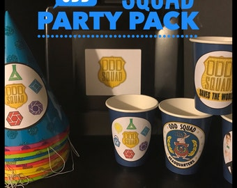 Odd Squad Birthday Party SUPER PACK for 8