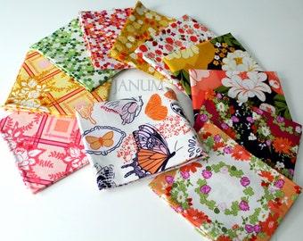 Strawberry Moon fat quarter bundle (prints without henna garden) fabric by Sandi Henderson for Michael Miller Fabrics - 11 fat quarters