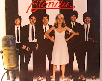"""ON SALE Blondie - """"Parallel Lines"""" (Original 1978 Chrysalis w inner sleeve, """"Heart of Glass"""",""""Hangin' On the Telephone"""" & """"One Way or Anothe"""