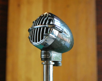 Astatic Microphone Model 31, Classic 1930s Harp Mic, JT-31 Style Biscuit Mic