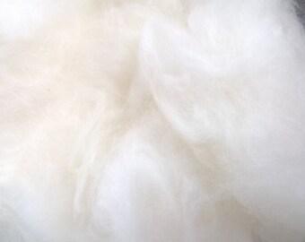 1 ounce  White Angora Wool