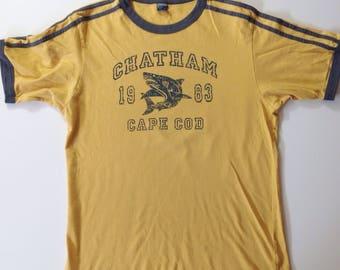 Chatham Cape Cod, vintage Tee, 1983 T, vtg Tshirt, Cape Cod Tee, Chatham Tee, Cape Cod T, vacation T