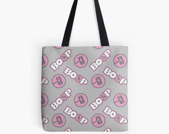 RWBY Nora BOOP Pattern Tote Bag Polyester Fabric
