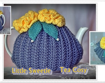 hand knitted tea cosy 4 cup