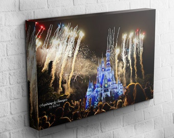 Disney Magic Kingdom, Disney Cinderella Castle, Cinderella's Castle, Disney Photography, Disney Fireworks, Cinderella's Castle Fireworks
