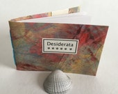 DESIDERATA POEM - Transitions - Daily meditations lovingly hand stitched and  hand bound