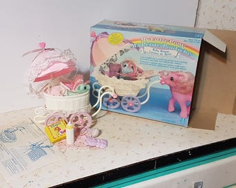 My Little Pony Baby Buggy With Box and Complete