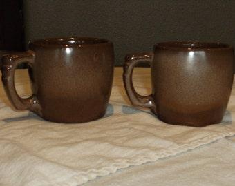 Vintage Frankoma Coffee Mugs