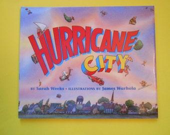Hurricane City, a Vintage Children's Alphabet Book by Sarah Weeks